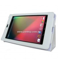 Google Nexus 7 Leather Case - White