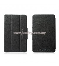 Google Nexus 7 Slim PU Leather Smart Case - Black