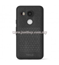 Google Nexus 5x Textured Microfiber Case - Black
