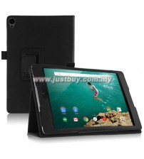 Google Nexus 9 Leather Case - Black