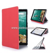 Google Nexus 9 Slim Fit Micro Fiber Case - Red