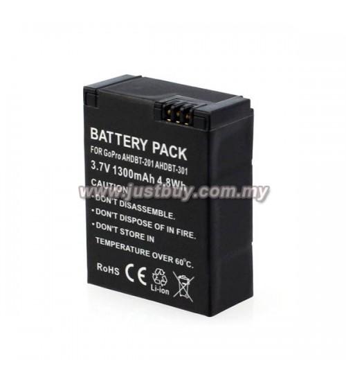 GoPro Hero 3 AHDBT301/201 1300mAh Battery