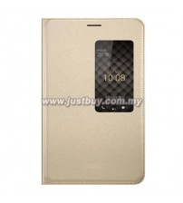 Huawei Honor X2 Window View Flip Case - Gold