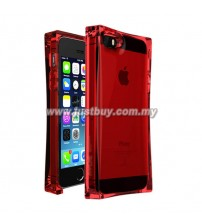 iPhone 5 / 5s AVOC Ice Cube Transparent Case - Crystal Red