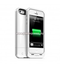 iPhone 5 Mophie Juice Pack Air External Battery Case - White