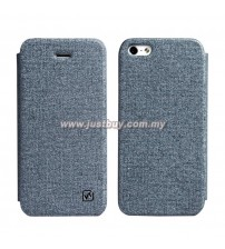 iPhone 5/5s HOCO Star Series Flip Case - Grey