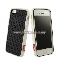iPhone 5/5s Vans Waffle Sole Rubber Case - Black