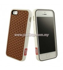 iPhone 5/5s Vans Waffle Sole Rubber Case - Brown