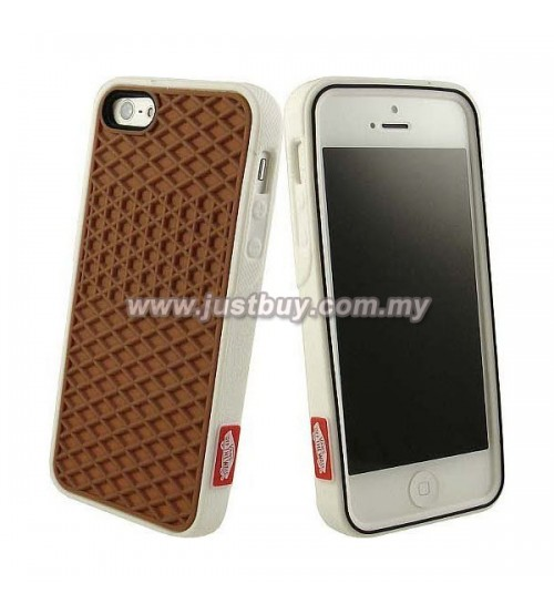 pretty nice acbe8 5af49 Buy iPhone 5/5s Vans Waffle Sole Rubber Case - Brown Malaysia
