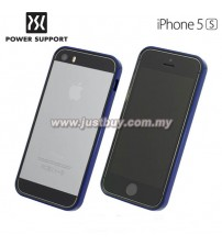 iPhone 5 / 5s Power Support Flat Bumper - Blue