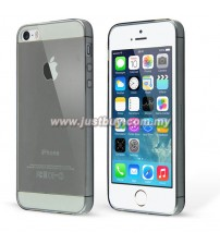 iPhone 5 / 5s TPU Rubber Silicone Case - Grey