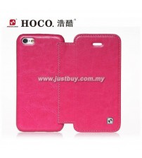 iPhone 5c HOCO Crystal Series Flip Leather Case - Pink