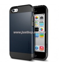 iPhone 5C SGP Tough Armor Case - Metal Slate