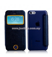 iPhone 5c MOMAX Flip View Case - Blue