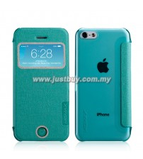 iPhone 5c MOMAX Flip View Case - Green
