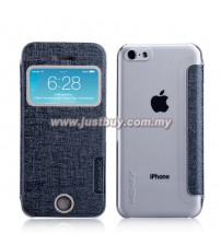 iPhone 5c MOMAX Flip View Case - Grey