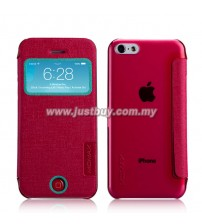 iPhone 5c MOMAX Flip View Case - Rose