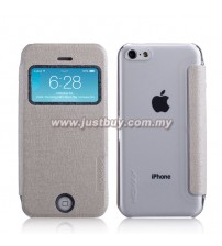iPhone 5c MOMAX Flip View Case - White