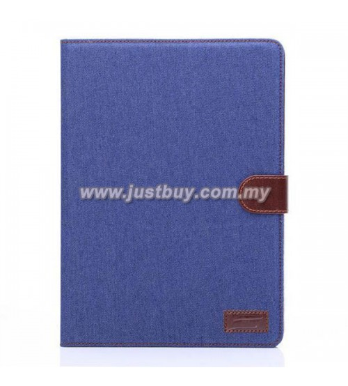 iPad Air 2 Jeans Wallet Case - Blue