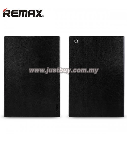 iPad Air 2 REMAX ELLE MAN Leather Case - Black