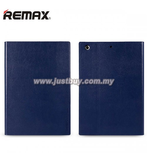 iPad Air 2 REMAX ELLE MAN Leather Case - Blue