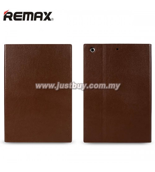 iPad Air 2 REMAX ELLE MAN Leather Case - Brown