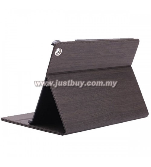 iPad Air 2 Wood Grain Smart Cover - Black