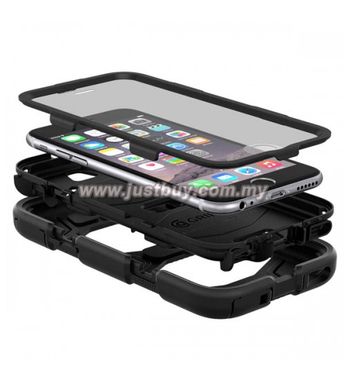 free shipping 77610 4ed0d Buy iPhone 6 Griffin Survivor All Terrain Waterproof Case - Blue ...