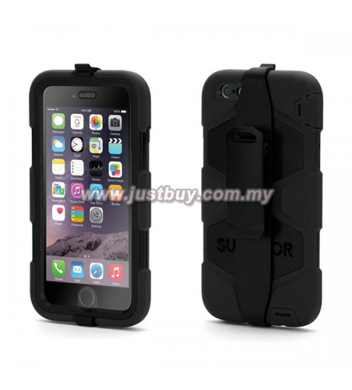 iPhone 6 Plus Griffin Survivor All-Terrain Waterproof Case - Black