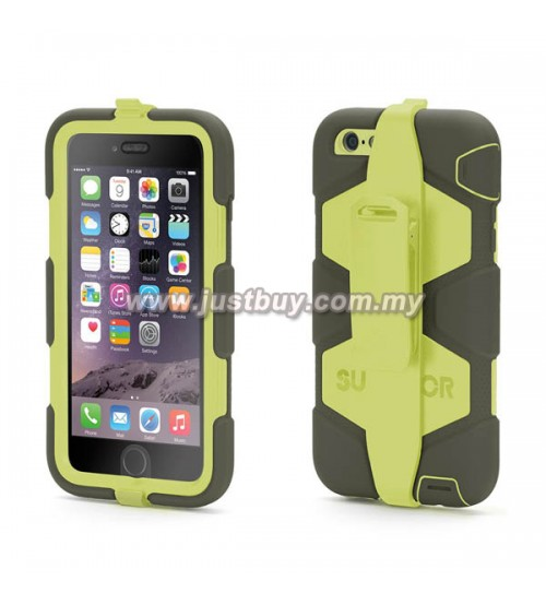 iPhone 6 Plus Griffin Survivor All-Terrain Waterproof Case - Green
