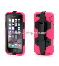 iPhone 6 Plus Griffin Survivor All-Terrain Waterproof Case - Pink