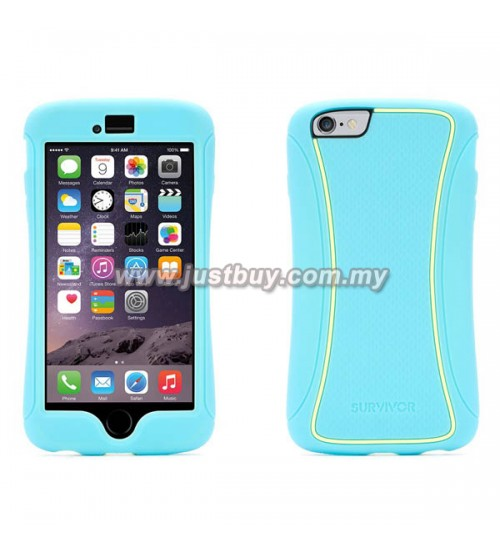 iPhone 6 Griffin Survivor Slim Case - Blue