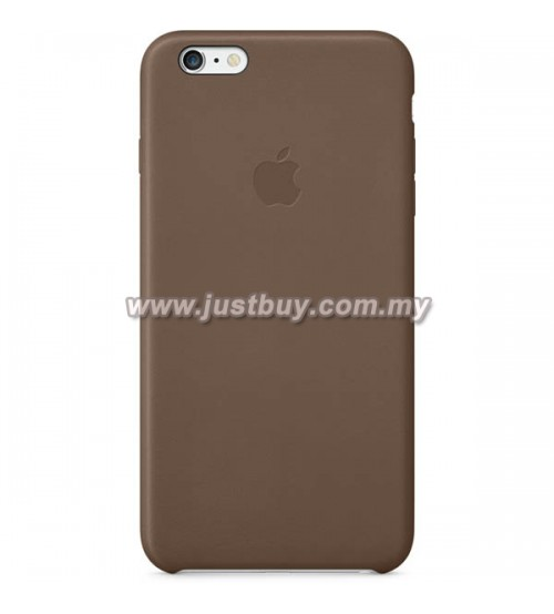 iPhone 6 Plus OEM Leather Case - Brown