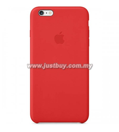 iPhone 6 Plus OEM Leather Case - Red