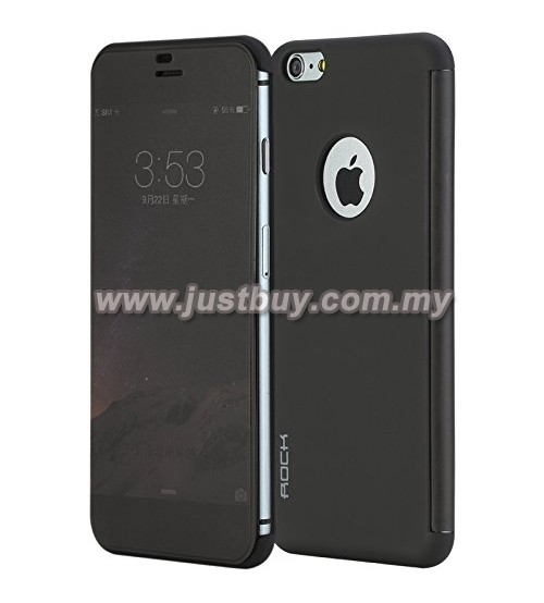 iPhone 6 Plus ROCK DR V Series Protective Case - Back Black