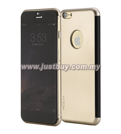 iPhone 6 Plus ROCK DR V Series Protective Case - Back Gold