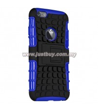 iPhone 6 Dual Armor Composite Stand Case - Blue
