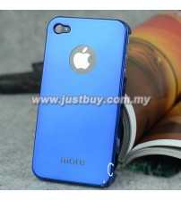 iPhone 4/4s More Metallic Series Case - Blue
