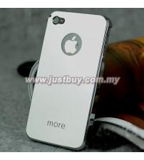 iPhone 4/4s More Metallic Series Case - Mirror