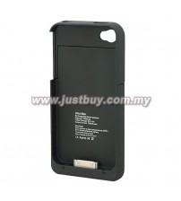 iPhone 4/4s 1900mAh External Battery Case - Black