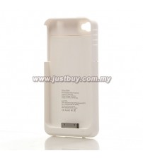iPhone 4/4s 1900mAh External Battery Case - White