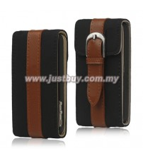 iPhone 4/4s 360 Degree Rotation Leather Case - Black