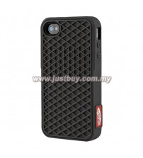 iPhone 4/4s Vans Waffle Sole Rubber Case - Full Black