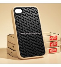 iPhone 4/4s Vans Waffle Sole Rubber Case - Black