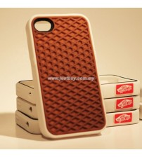 iPhone 4/4s Vans Waffle Sole Rubber Case - Brown