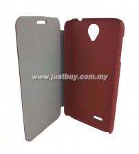 Lenovo A850 Flip Cover - Brown