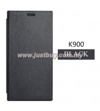 Lenovo K900 Smart Flip Cover - Black