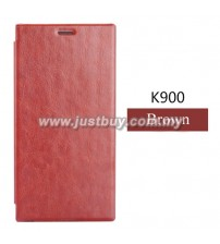 Lenovo K900 Smart Flip Cover - Brown