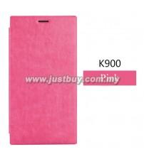 Lenovo K900 Smart Flip Cover - Pink