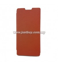 Lenovo P780 Flip Cover - Brown